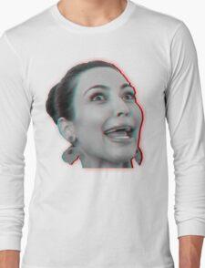 Kim Kardashian 3D Long Sleeve T-Shirt
