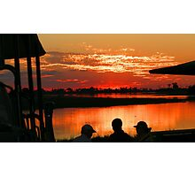 Another Delta sunset ! Photographic Print