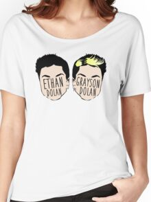 Dolan Twins (Ethan Dolan & Grayson Dolan) Women's Relaxed Fit T-Shirt
