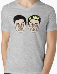 Dolan Twins (Ethan Dolan & Grayson Dolan) Mens V-Neck T-Shirt