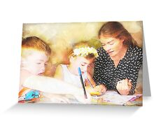 Family Time Greeting Card