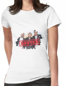 busted Womens Fitted T-Shirt