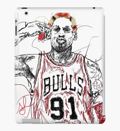Dennis Rodman iPad Case/Skin