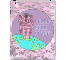 Introvert awkward tumblr space galaxy teen snapchat sticker print iPad Case/Skin