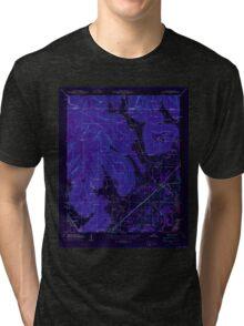 USGS TOPO Map Alabama AL Doran Cove 303697 1950 24000 Inverted Tri-blend T-Shirt