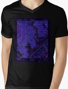 USGS TOPO Map Alabama AL Doran Cove 303697 1950 24000 Inverted Mens V-Neck T-Shirt