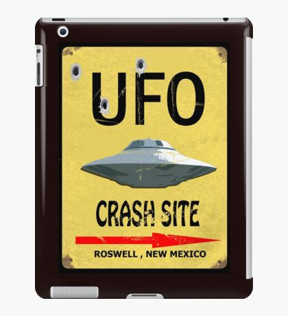 UFO Crash Site iPad Case/Skin