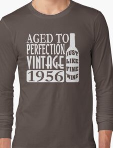 1956 Aged To Perfection Long Sleeve T-Shirt