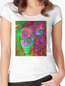 Fantasy Land Women's Fitted Scoop T-Shirt