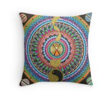 Personality layers Throw Pillow