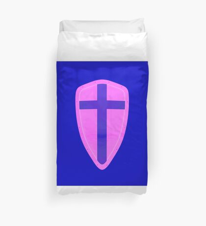 Shield Of Faith Duvet Cover