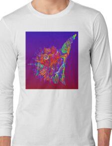 Alien Sea Creature Long Sleeve T-Shirt