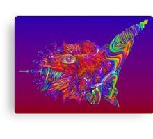Alien Sea Creature Canvas Print