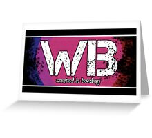 Wasted In Bombay - Logo Bar Greeting Card