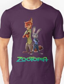 nick wilde and judy hopps Unisex T-Shirt