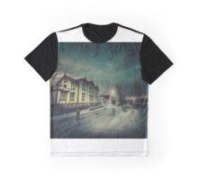 Silent Night Street Graphic T-Shirt