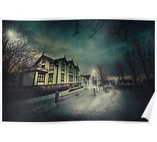 Silent Night Street Poster