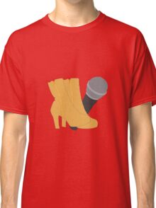Hedwig Heels and Microphone Classic T-Shirt