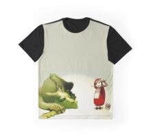 Little Red Hood and The Dragon Graphic T-Shirt