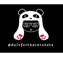 #doitfortheratchets - Ratchet Panda King Photographic Print
