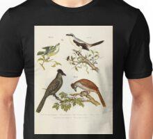 Bilder atlas zur Wissenschaftlich populären Naturgeschichte der Vögel in ihren sämmtlichen Hauptformen Leopold Joseph Fitzinger 1864 049 Unisex T-Shirt