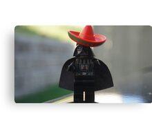 Sombrero Vader Canvas Print