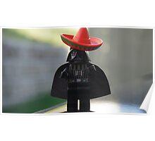 Sombrero Vader Poster
