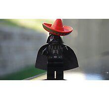 Sombrero Vader Photographic Print