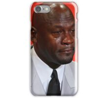 Crying Michael iPhone Case/Skin