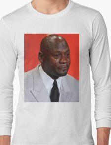 Crying Michael Long Sleeve T-Shirt