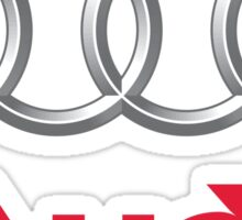 Audi Logo Sticker