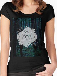 La Dispute - Flower Women's Fitted Scoop T-Shirt