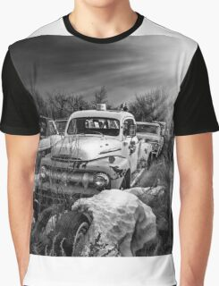 Drop Zone - BW Graphic T-Shirt