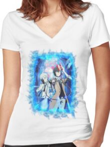 Bungeou Stray Dogs Women's Fitted V-Neck T-Shirt