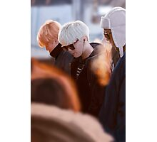 Suga Jimin Rapmon BTS (airport) Photographic Print