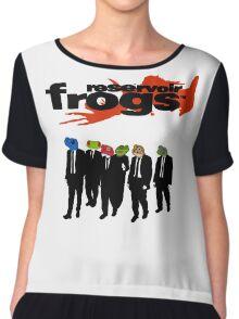 Reservoir Frogs Chiffon Top