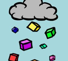 Cubic Rain Sticker