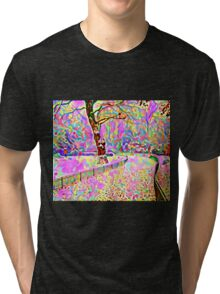 Color My World Happy Tri-blend T-Shirt
