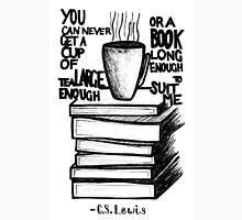 Tea and Books quote Unisex T-Shirt