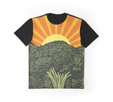 Veggie Sunrise Graphic T-Shirt