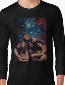 FIFTH HARMONY 7/27 GALAXY COVER Long Sleeve T-Shirt