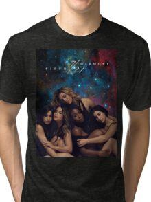 FIFTH HARMONY 7/27 GALAXY COVER Tri-blend T-Shirt