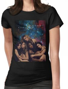 FIFTH HARMONY 7/27 GALAXY COVER Womens Fitted T-Shirt