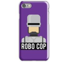 Robo cop iPhone Case/Skin