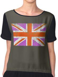 Punk Union Jack Flag Chiffon Top