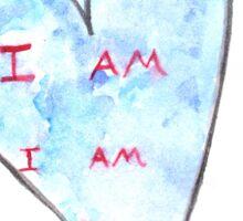 I Am Sticker