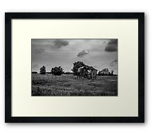 The Broken Barn Framed Print