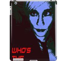 Who's the boss? iPad Case/Skin
