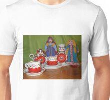 Russian Doll Tea Time Unisex T-Shirt
