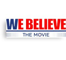 Chicago Cubs - We Believe The Movie Canvas Print